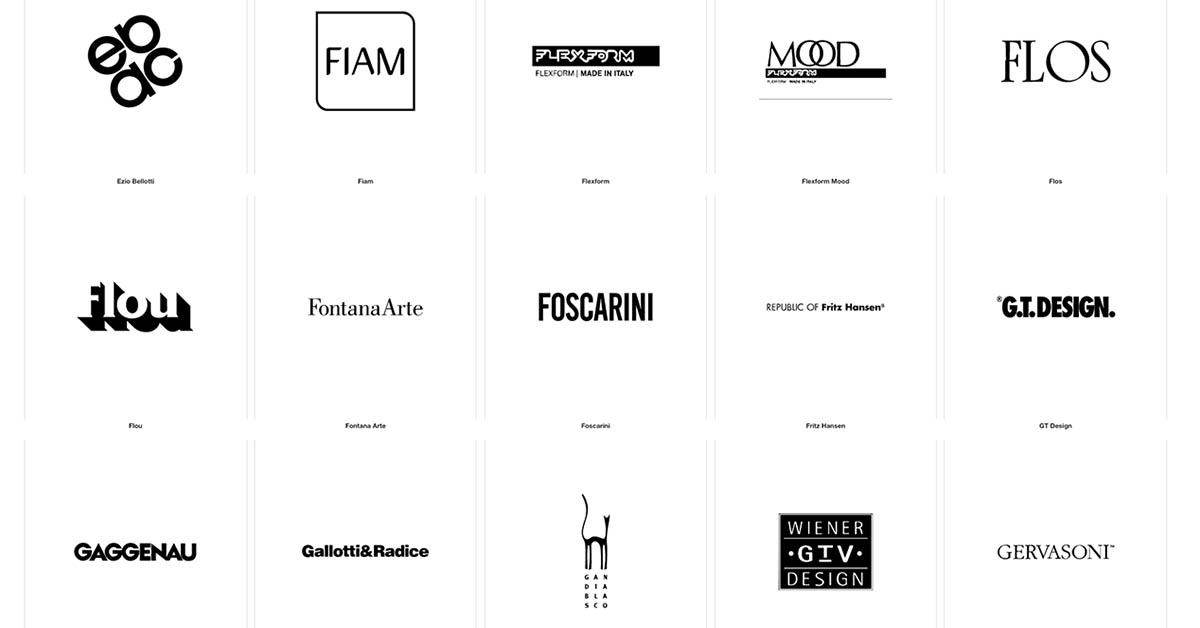 Marchi tutti i migliori marchi di design salvioni for Marche arredamento design