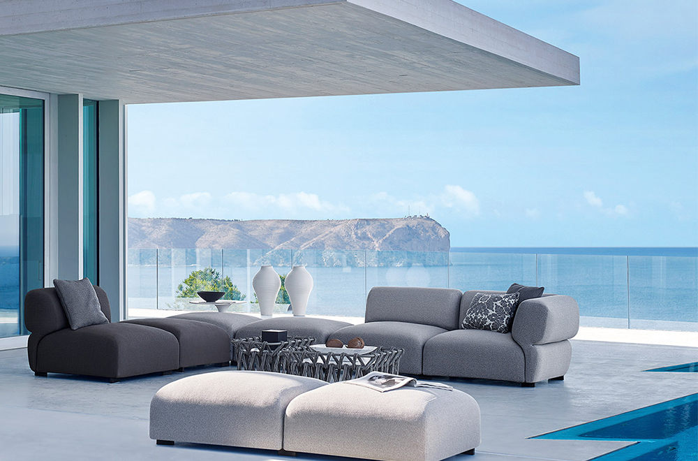 B b italia outdoor official dealer salvioni design for B and b italia