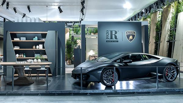 Salvioni Milano Durini presents the Authentic Living collection by Lamborghini and Riva1920