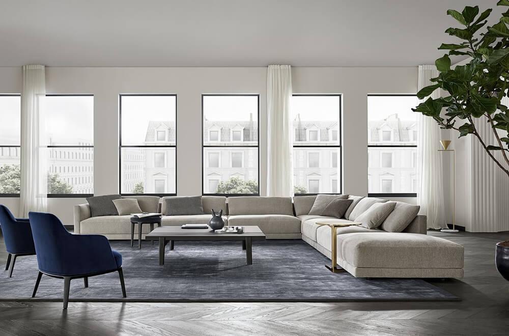 Poliform divani richiedi i prezzi ad un rivenditore for Salvioni arredamenti