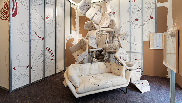 A chair is a chair is a chair - The Antonio Marras installation in collaboration with Saba Italia