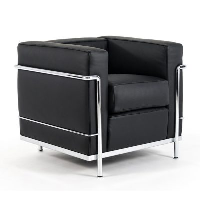 LC2 sofa and armchair