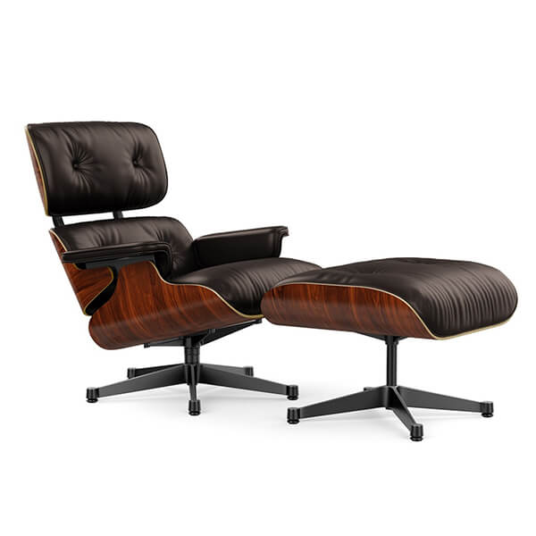 Poltrona Eames Lounge Chair & Ottoman