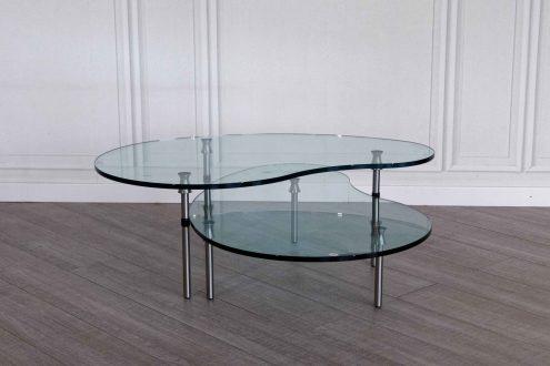 Zanotta coppia di tavolini ambo in offerta outlet con uno sconto