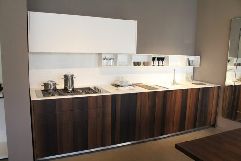 Boffi aprile kitchen available in our outlet store with for Boffi outlet