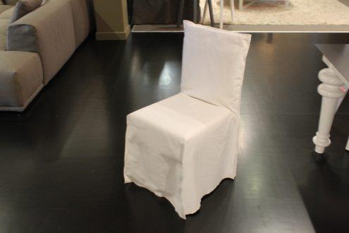 Gervasoni Ghost. Sedie rivestite in tessuto sfoderabili, PAOLA ...